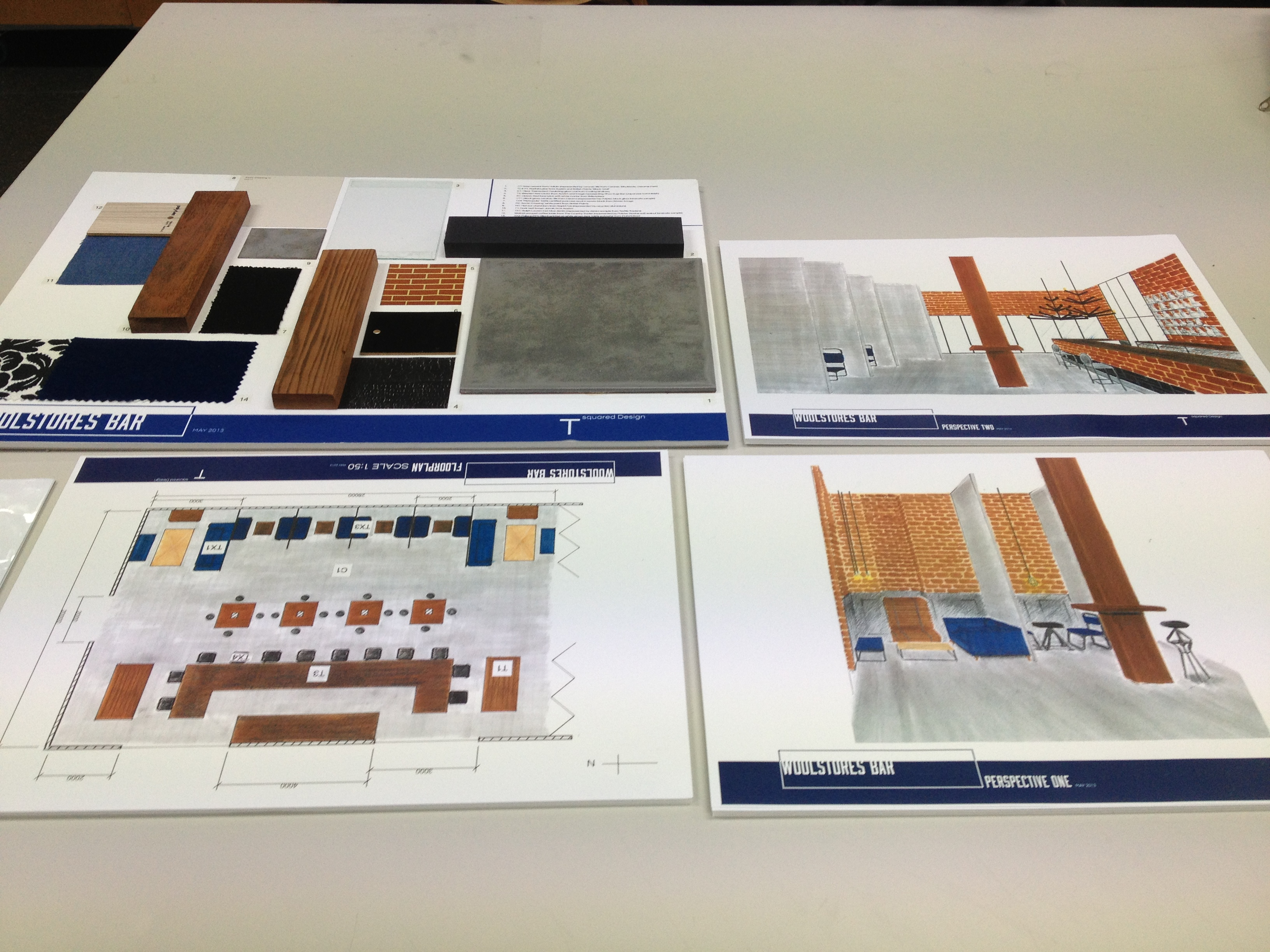 example interior design project paper work