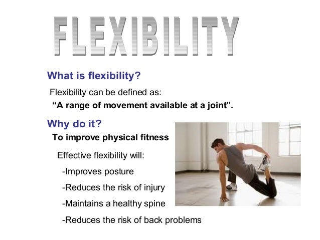 what is an example of flexibility