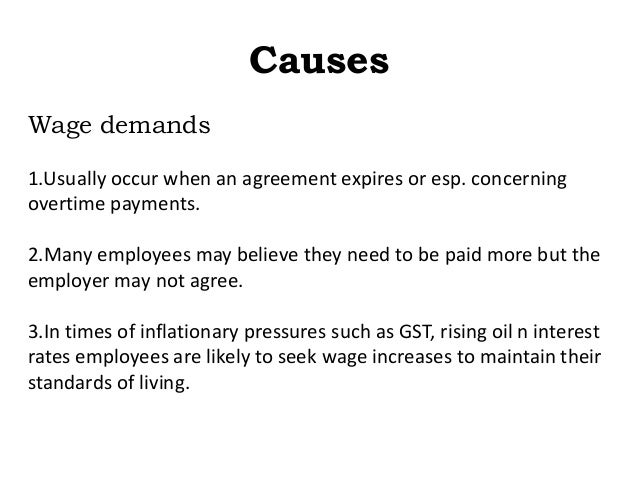 industrial relations management plan example