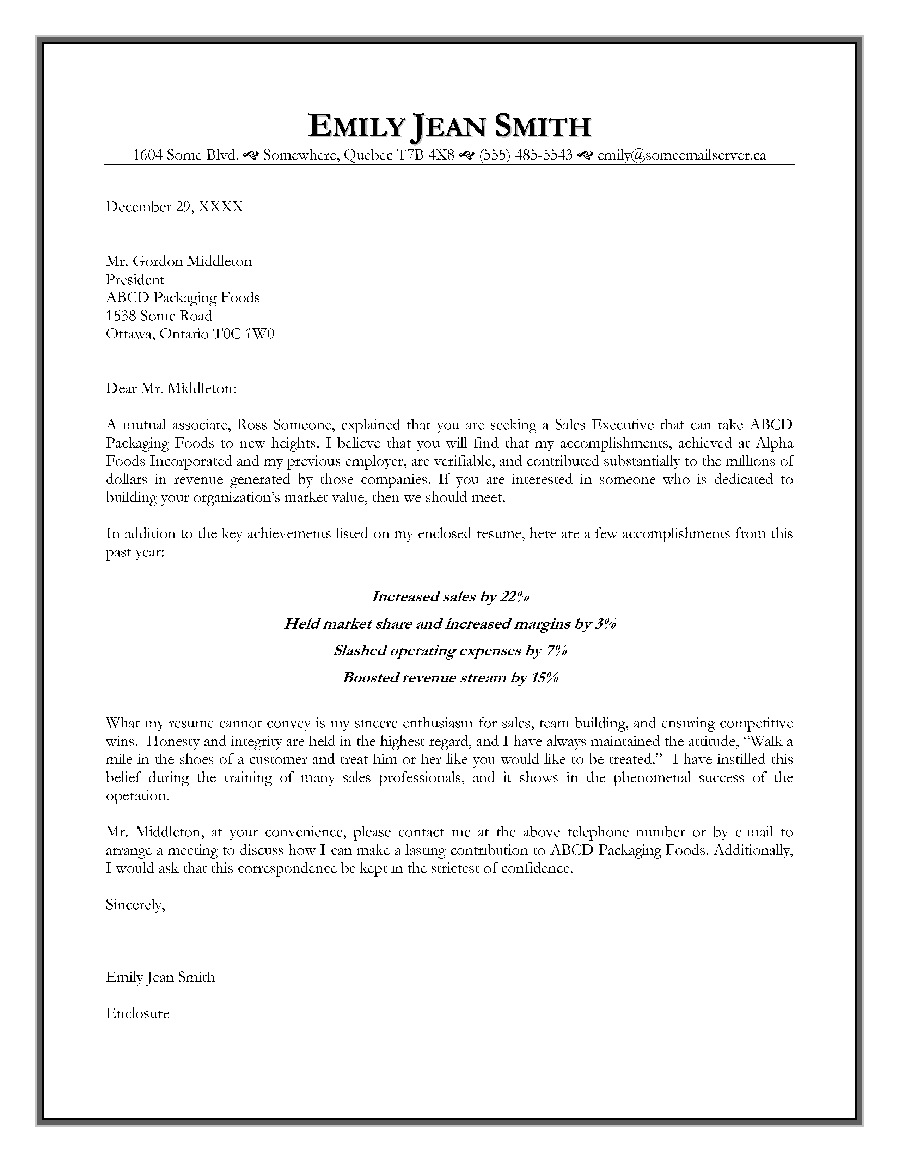 example of letter of introduction for employment