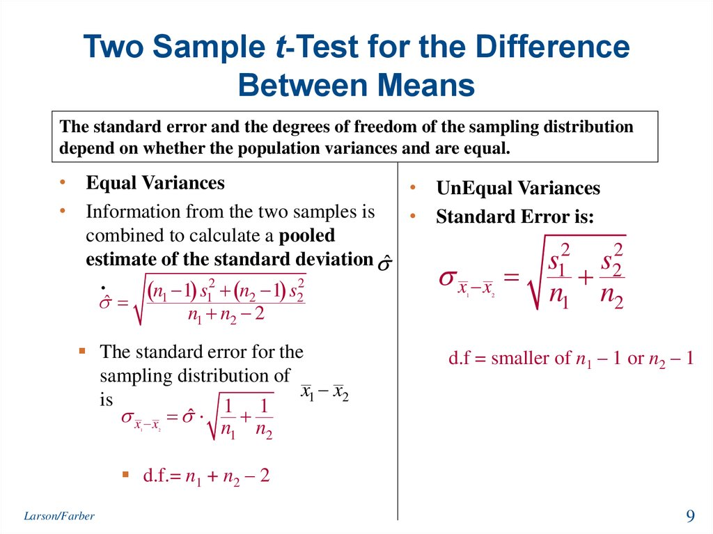 one sample t test example