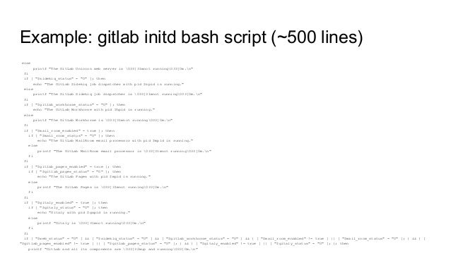 systemd bash script as a service start stop example
