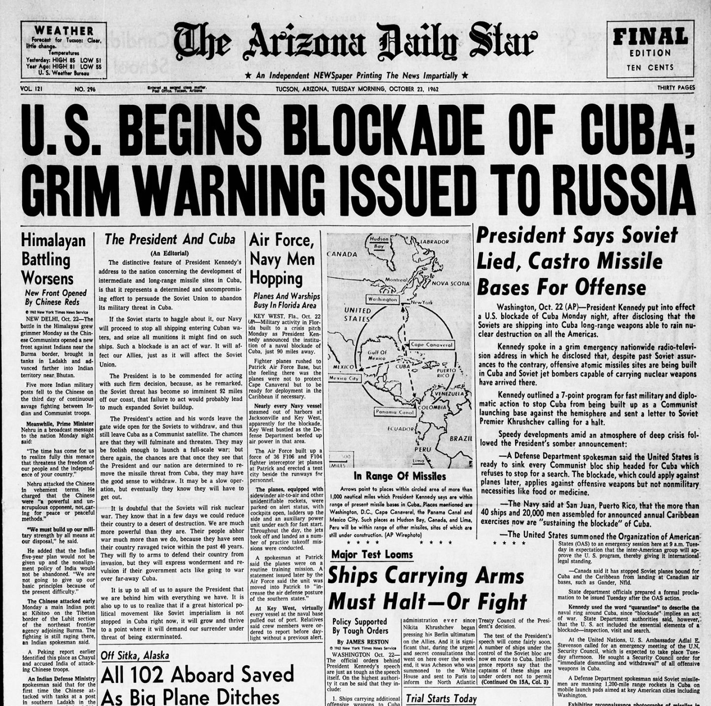 cuban missile crisis research paper example