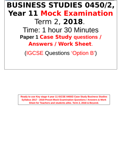 example irac exam answer about commercial
