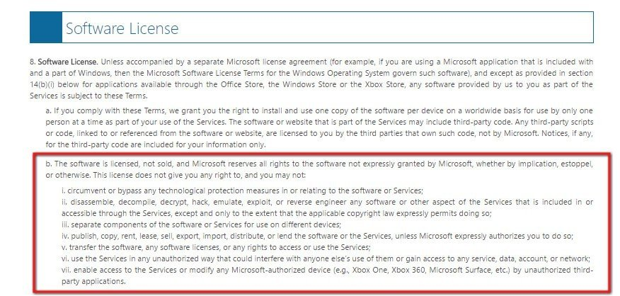 software as a service agreement example
