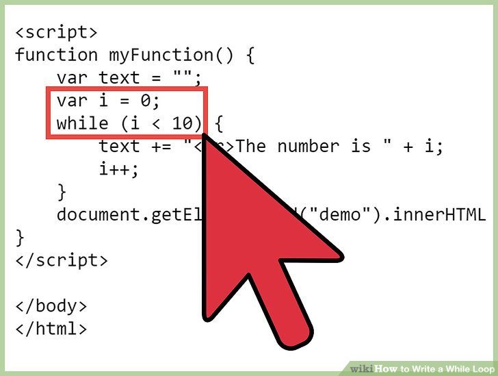 while loop example with condition